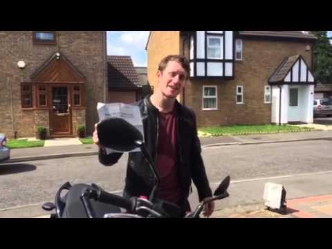Jordan Kleiner... Passed Module 2 bike test