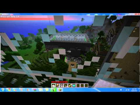 The TD Garden outside view  minecraft
