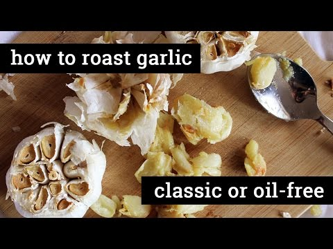 How to Make Whole Roasted Garlic // Traditional or Oil-free   Mary's Test Kitchen