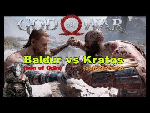 Baldur vs Kratos GOD of WAR