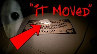OUIJA BOARD MOVES ITSELF! - TOM MABE