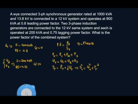 Calculate Combined System Power Factor