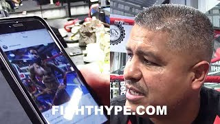 "ROBERT GARCIA LOOKS AT RECENT ADRIEN BRONER PHOTOS AND REACTS TO WEIGHT LOSS: ""HE"