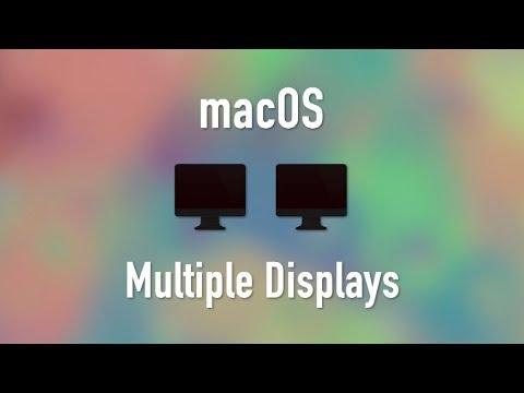 macOS: Multiple Displays
