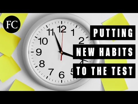 What Makes a New Habit Stick?