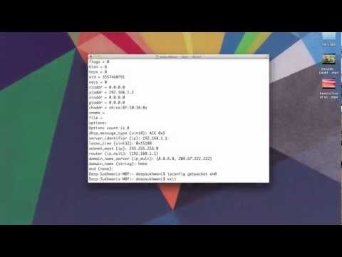 How to find MAC Address using Terminal and Network Utility