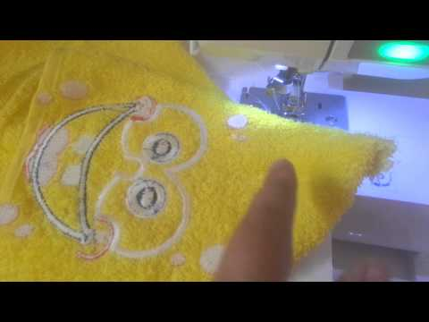How to make a square hooded towel