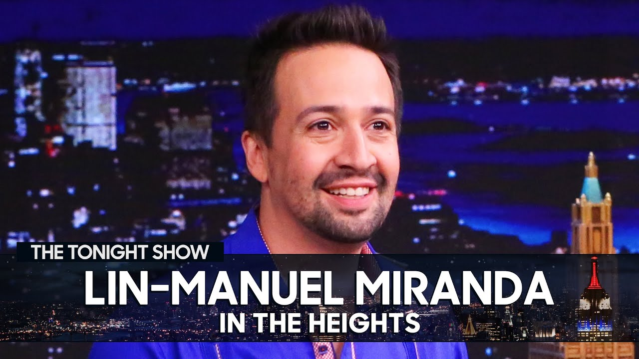 Lin-Manuel Miranda Started Writing in IntheHeights as a Teenager | The Tonight Show