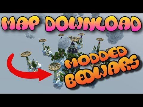 Minecraft Console MODDED Fantasia Bed Wars MAP W/DOWNLOAD (XBOX 360/ONE/PS3/PS4/WII U)