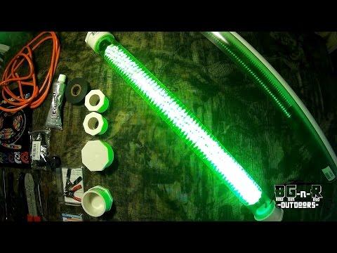 DIY Homemade 600 LED fishing lights for CHEAP!! Part3