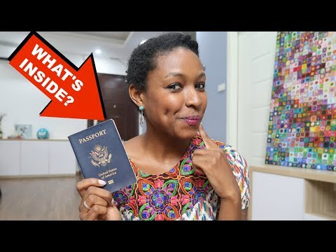 What's Inside My Passport!? Passport Stamps & Memories | charlycheer
