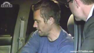 Paul Walker Last Video Before Accident ✪CNN NEWS✪