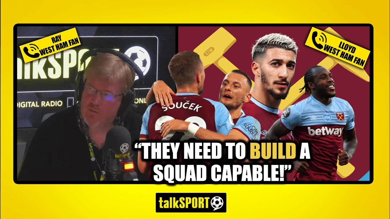 """""""IT MIGHT BE A BRIDGE TOO FAR!"""" West Ham fans discuss their chances of TOP FOUR!"""