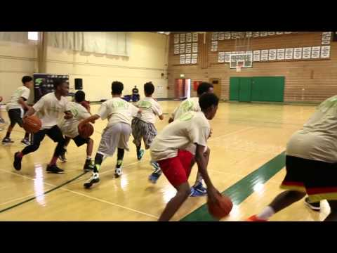 Basketball Training Camp: Dribble Series by Sam Luong @SLskillsfactory