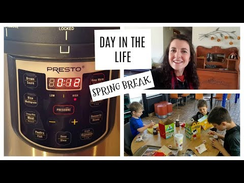 Instant Pot Mashed Potatoes | Day in the Life | Spring Break