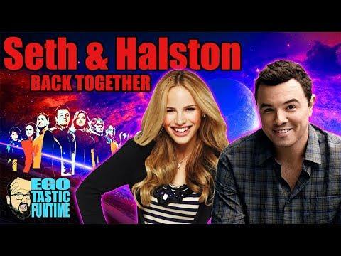 Seth MacFarlane & Halston Sage Back Together - Alara Leaving In Season 2? | TALKING THE ORVILLE