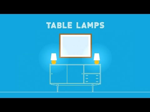 Types of Table Lamps: How to Choose