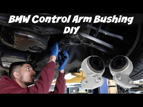 BMW E46 Control Arm Bushing Replacement/DIY