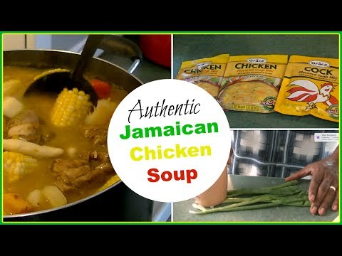 Homemade Jamaican Chicken Soup   Delicious Jamaican Comfort Food