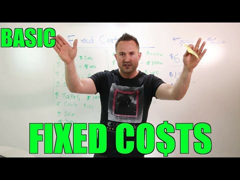 What Are Your Fixed Costs? Why You're Spinning Your Wheels (Small Business Money Basics)