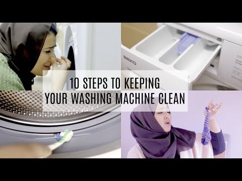 10 STEPS TO KEEPING YOUR WASHING MACHINE CLEAN - GET RID OF MOULD/MILDEW NATURALLY