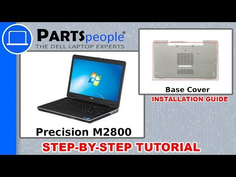 Dell Precision M2800 (P29F001) Base Cover How-To Video Tutorials