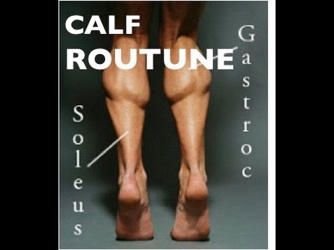 Calf Routine/Calf Exercises/Calf Workout for Strength Endurance, Power and Explosiveness