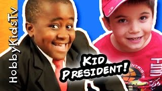 HobbyKids Make Handmade Awards a Kid President