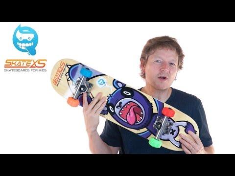 Skateboard for Kids - SkateXS Beginner Complete - Age 5-12