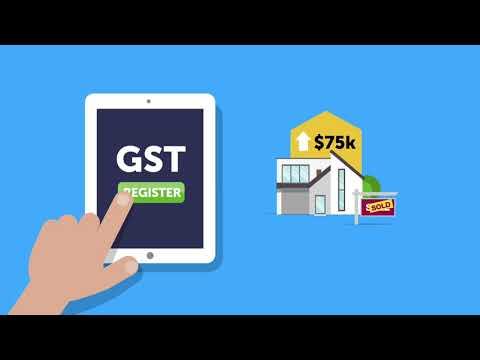 GST registration and property development