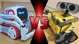 ROBOT DEATH BATTLE! - Cozmo VS Wall-E (ROBOT DEATH BATTLE!)