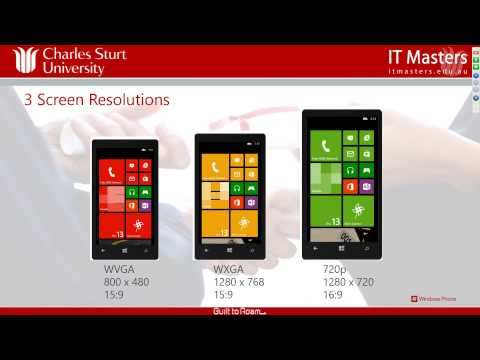 Developing Applications for Windows Phone 8 (Short Course) - Week 1
