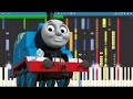 IMPOSSIBLE REMIX - Thomas The Tank Engine Theme Song - Piano Cover
