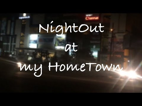 My First Vlog at My HomeTown Rudrapur | NightOut with Mandal