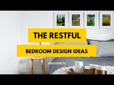 65+ Awesome The Restful Bedroom Design Ideas We Love!