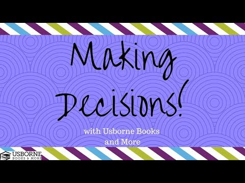 Making Decisions with Usborne Books and More