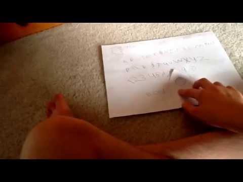 ouija board paper