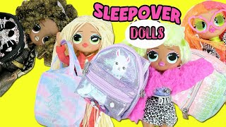 Download LOL Surprise OMG Surprise Fashion Dolls Sleepover + What's in my Purse Surprise | Toy Caboodle Video