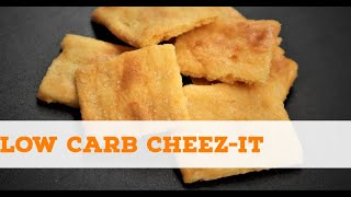 Low Carb Cheez-It Copycat Recipe - Keto Crackers (Easy To Make)