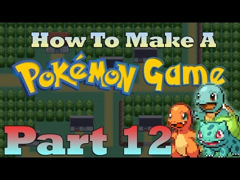 How To Make a Pokemon Game in RPG Maker - Part 12: Choosing Starters