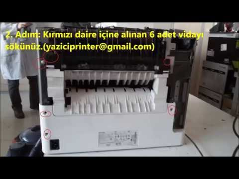 Service Printhead Error (Lexmark T650n Service Printhead Error Onarımı - RESIMLI)