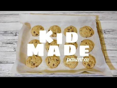 Kid Made Recipe: Pepitas Chocolate Chip Cookies