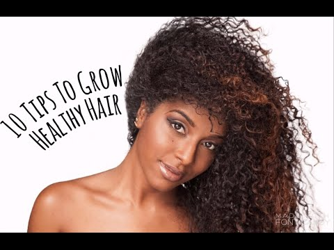 10 tips to Grow Healthy Hair!