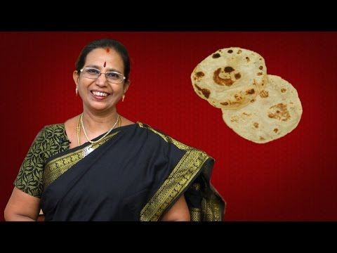 Soft Chapati | Mallika Badrinath Recipes