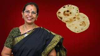 Soft Chapati | Mallika Badrinath Recipes