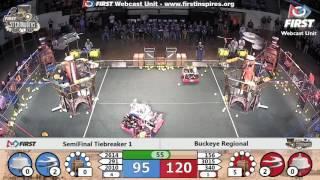 Semifinal Tiebreaker 1 - 2017 Buckeye Regional