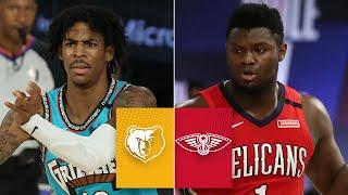 Memphis Grizzlies vs. New Orleans Pelicans | 2019-20 NBA Highlights