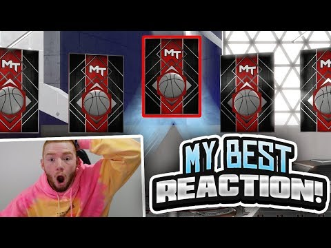MY BEST REACTION SO FAR! CRAZIEST THROWBACK PLAYOFF MOMENTS PACK OPENING!! (NBA 2K18 MYTEAM)