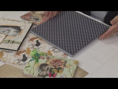 How To Put Together A Vintage Style Scrapbook