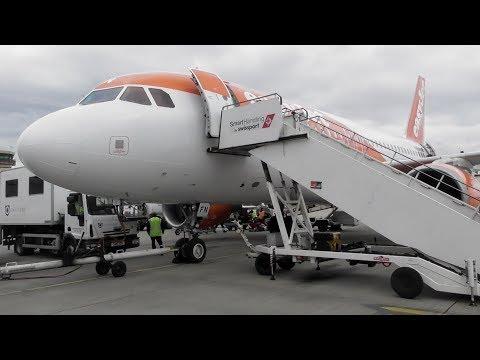 easyJet Airbus A319-111 Barcelona–El Prat to Liverpool   Full Flight